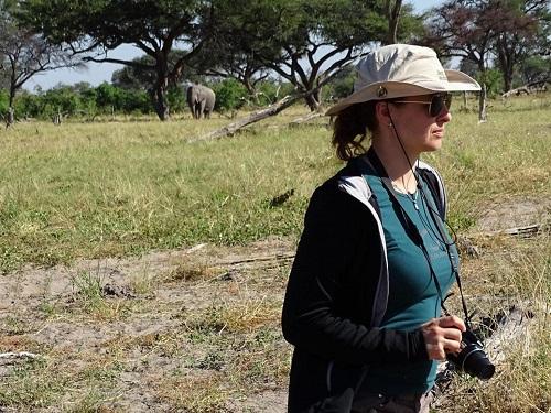 Naše cesta po Botswaně